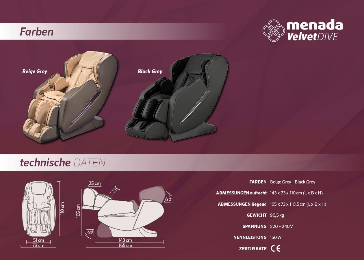 whirlpool-center-massagesessel-menada-velvet-dive-technische-daten-farben