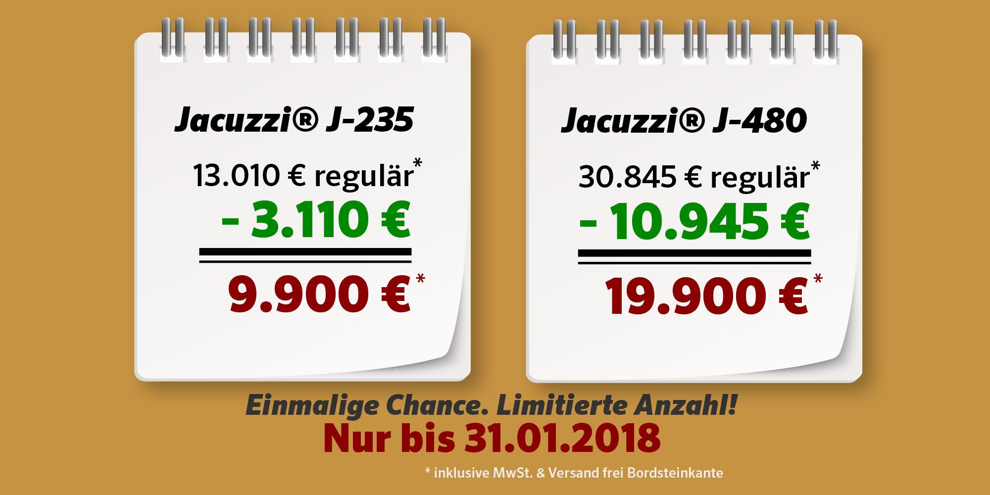 Jacuzzi Winter-Aktion