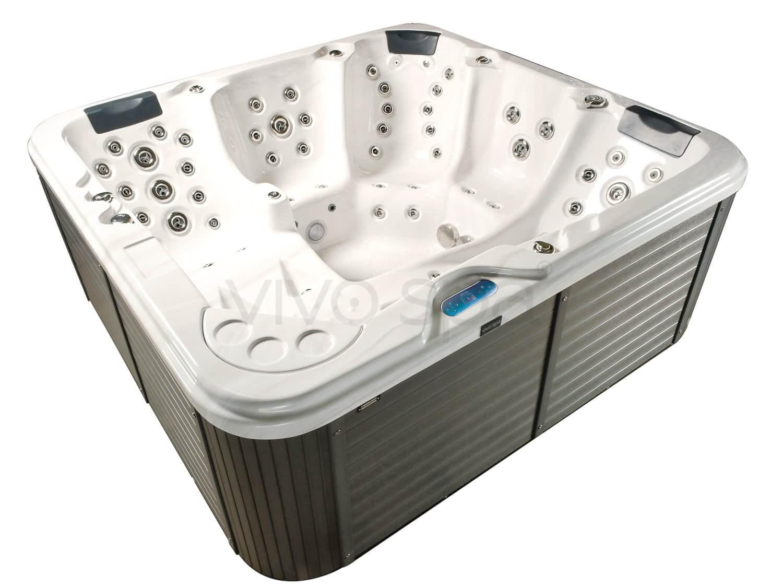 vivo spa weluxia 516 aussenwhirlpool. Black Bedroom Furniture Sets. Home Design Ideas