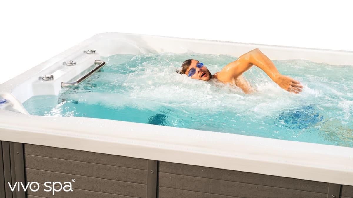 swim spa vivo spa waterfit