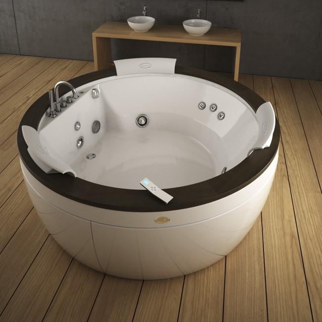 Jacuzzi® Badezimmerwelt – Whirlpool Badewannen: Whirlpool Center