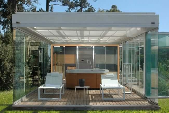 Whirlpools - Luxus für Ihren Garten: Whirlpool Center