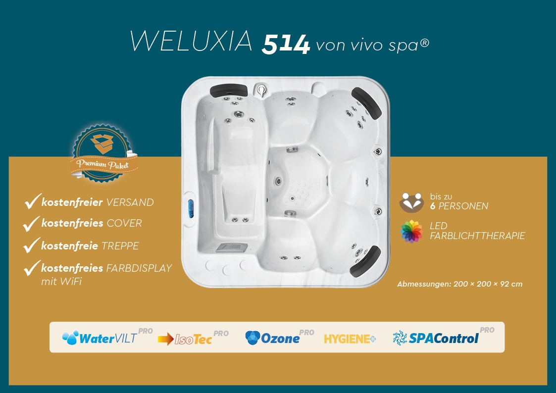 vivo spa weluxia 514 angebot
