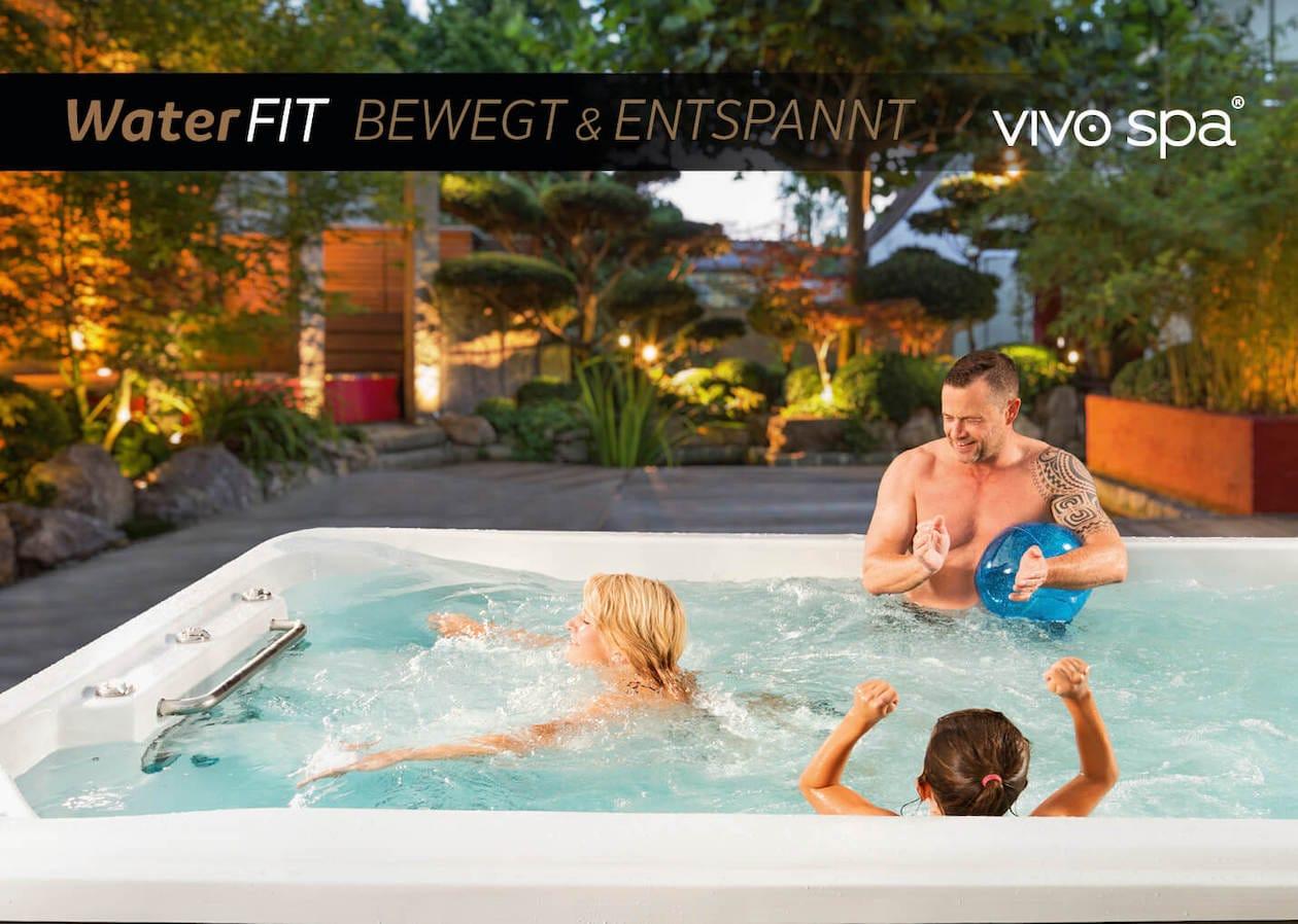 vivo spa swim spa - bewegt und entspannt