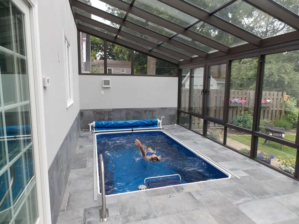 Endless Pools 174 Zuhause Schwimmen Das Beste Erleben