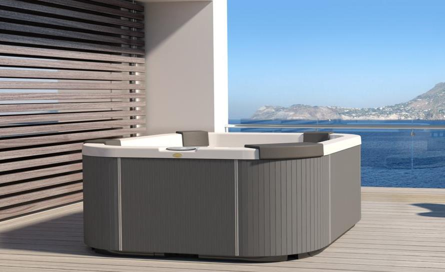jacuzzi whirlpool santorini pro vom top retailer. Black Bedroom Furniture Sets. Home Design Ideas