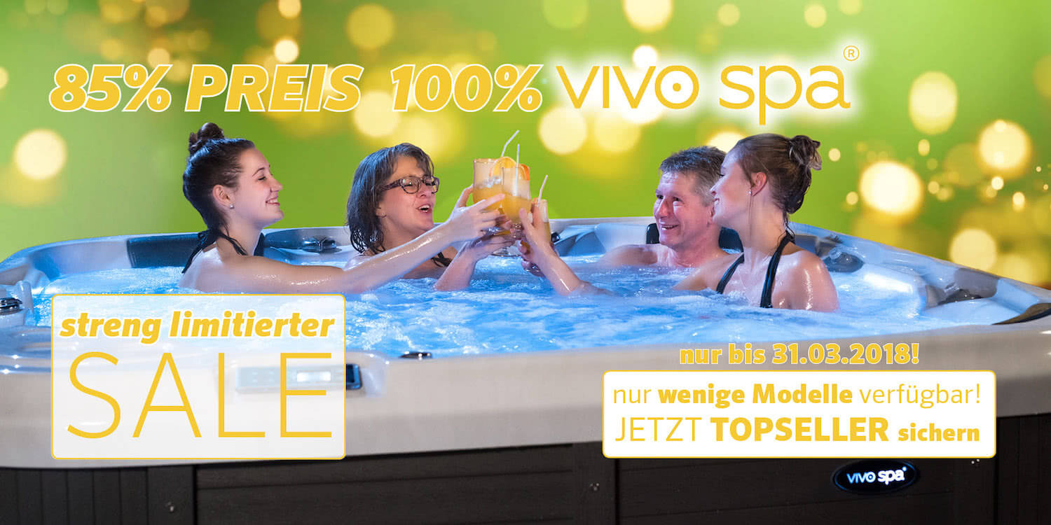 vivo spa Pre-Season Sale 2018
