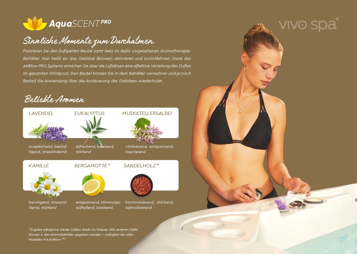 vivo spa Aromatherapie AquaSCENT PRO