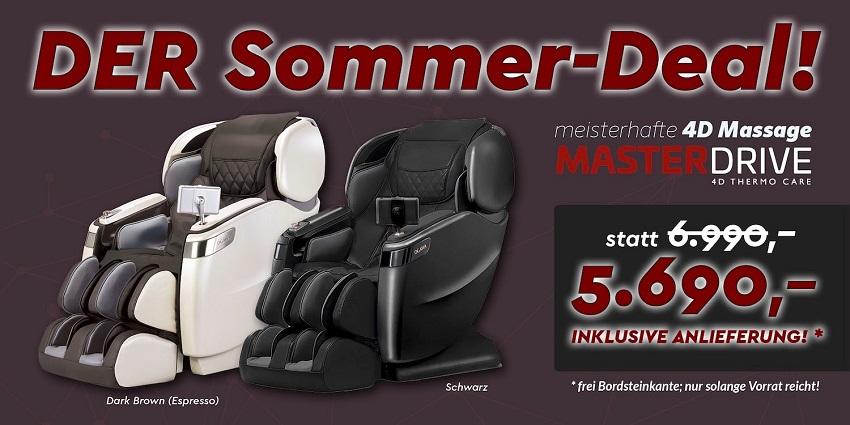 Massagesessel Sommer-Deal