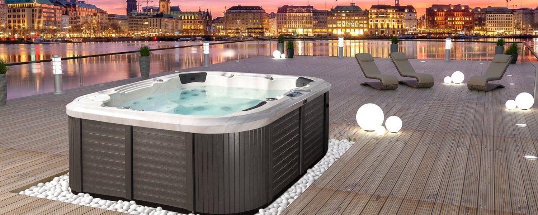 vivo spa aussenwhirlpools tr ume wahr werden lassen. Black Bedroom Furniture Sets. Home Design Ideas