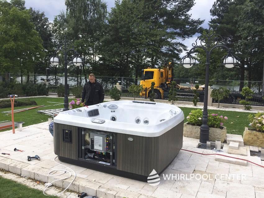 Outdoor Whirlpool Referenzen